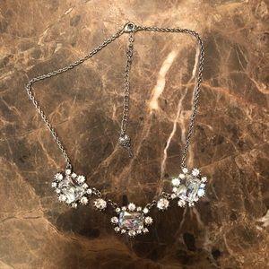 Betsey Johnson big rhinestone necklace